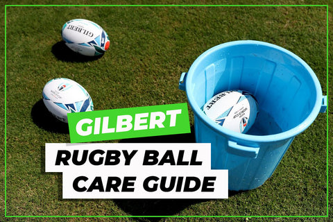 Gilbert Rugby ball care guide - Coronavirus CoVid-19 advice