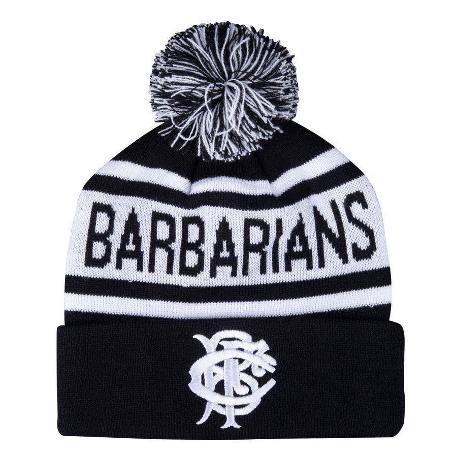 Barbarian FC Adult's Black Barbarian Bobble Hat