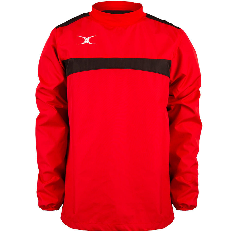 2600 RCBQ18 81507105 Jacket Photon Warm Up Red & Black Front