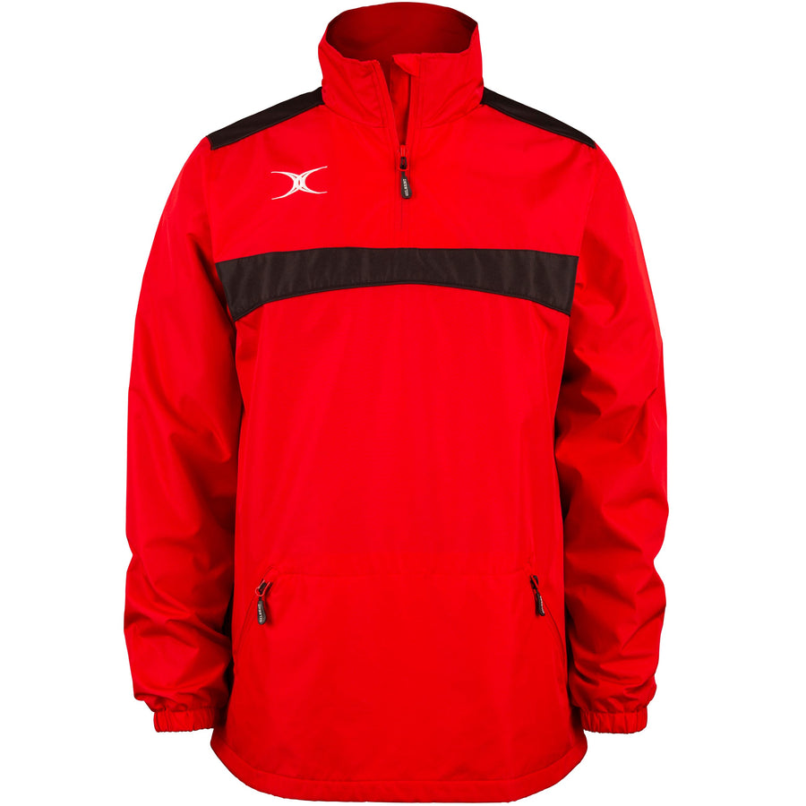 2600 RCBR18 81506705 Jacket Photon Quarter Zip Red & Black Front