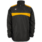 2600 RCBR18 81506805 Jacket Photon Quarter Zip Black & Gold Front