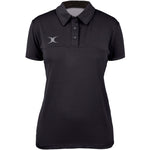 2600 RCFG17 81504905 Polo Ladies Pro Tech Black, Front