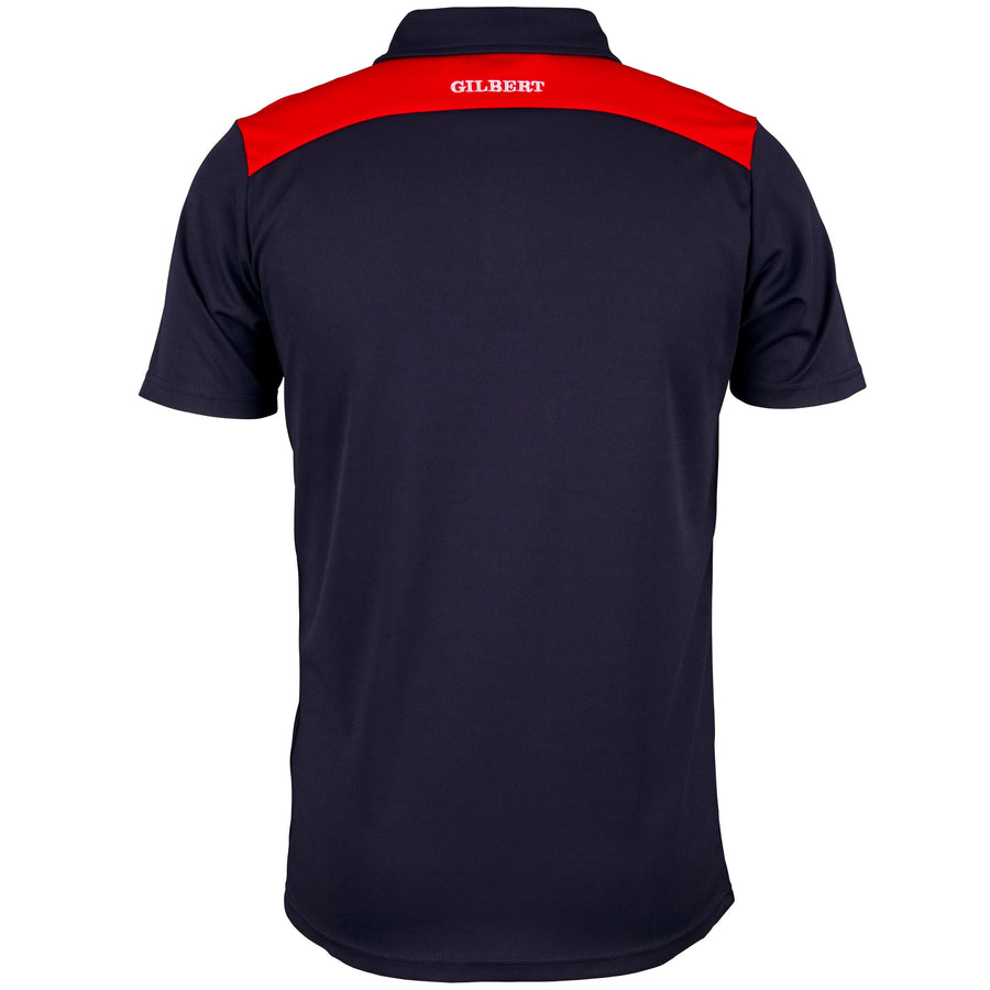 2600 RCFI18 81508805 Polo Photon Dark Navy & Red, Back