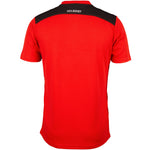 2600 RCFK18 81509805 Tee Photon Red & Black, Back