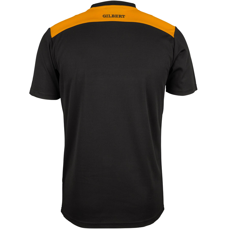 2600 RCFK18 81509905 Tee Photon Black & Gold, Back