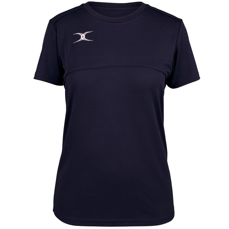2600 RCFL18 81512905 Tee Photon Ladies Dark Navy Front