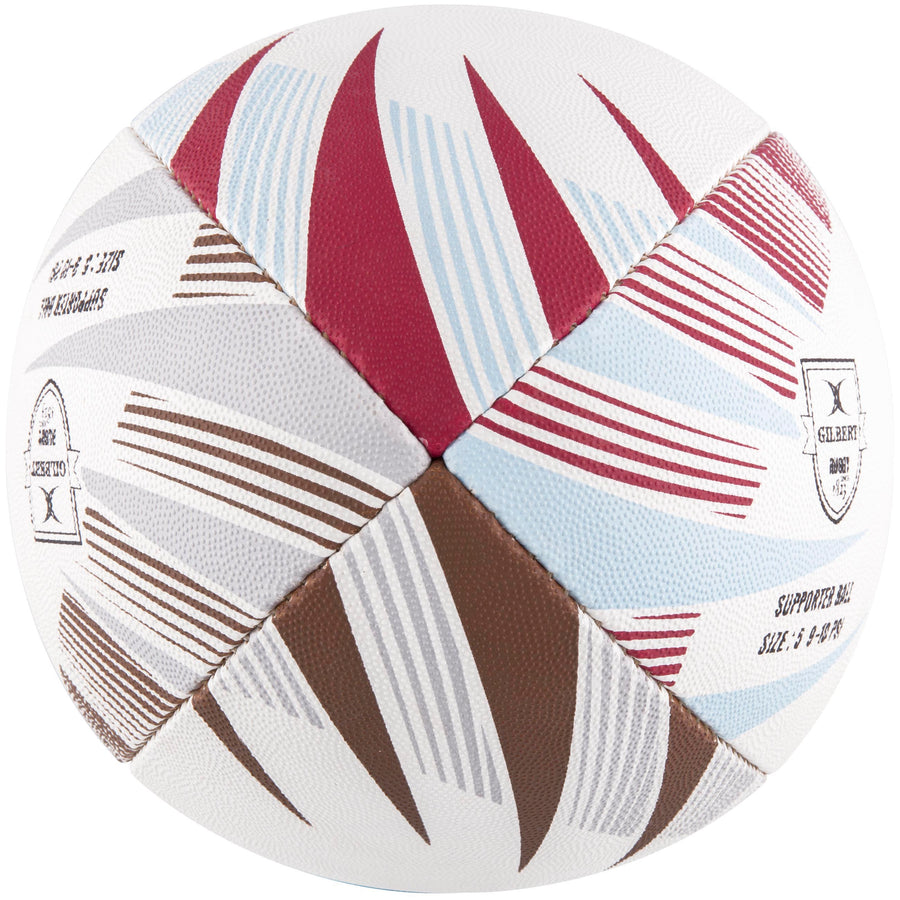 2600 RDCD17 45076105 Ball Supporter Harlequins Size 5 End