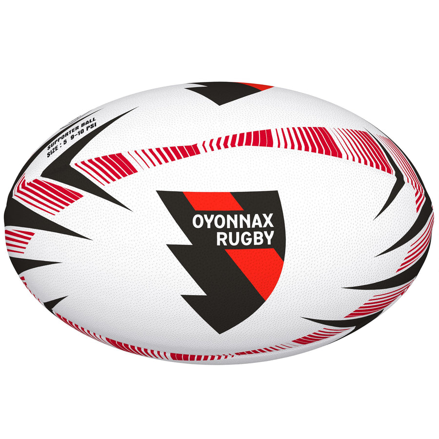 2600 RDEN18 48421505 Ball Supporter Oyonnax Rugby Size 5