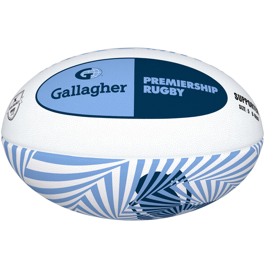 2600 RDFM18 48424505 Ball Supporter Gallagher Premiership Size 5, Primary