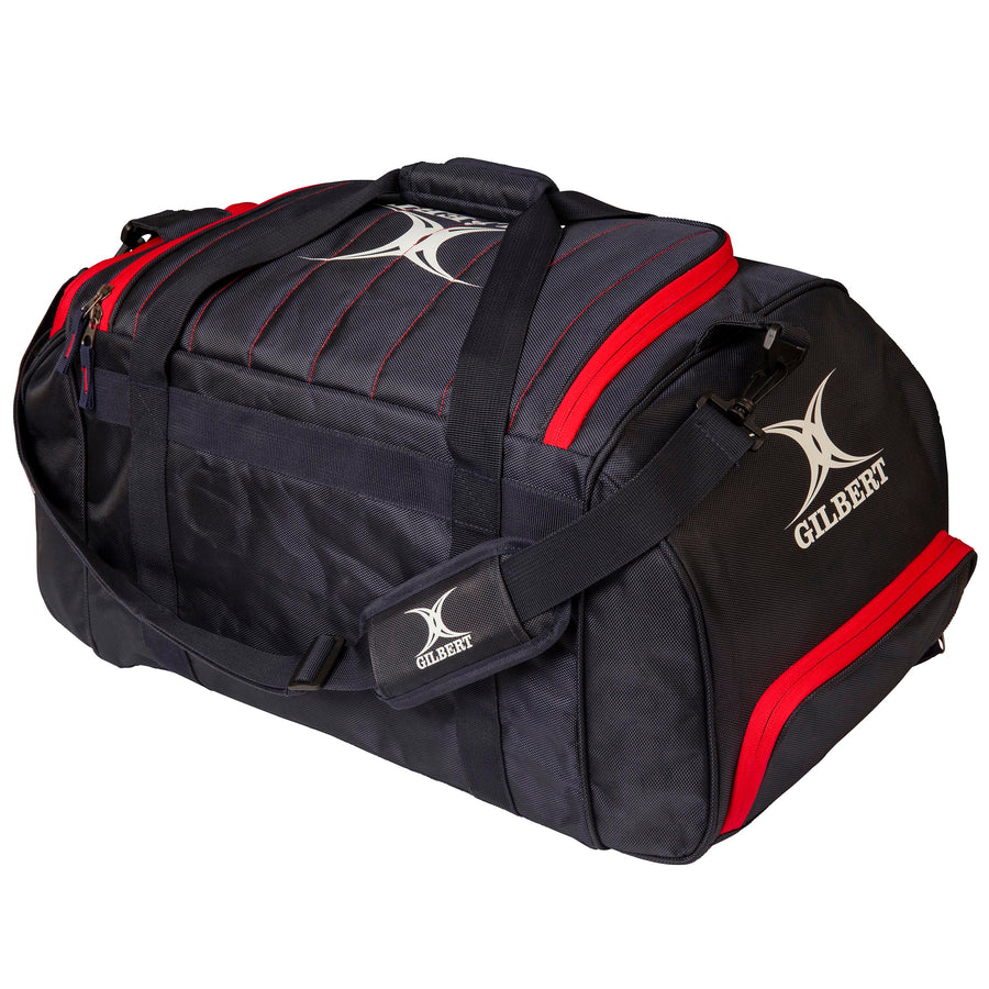 2600 RHAF19 83026400 Bag Performance Holdall Black & Red, Back
