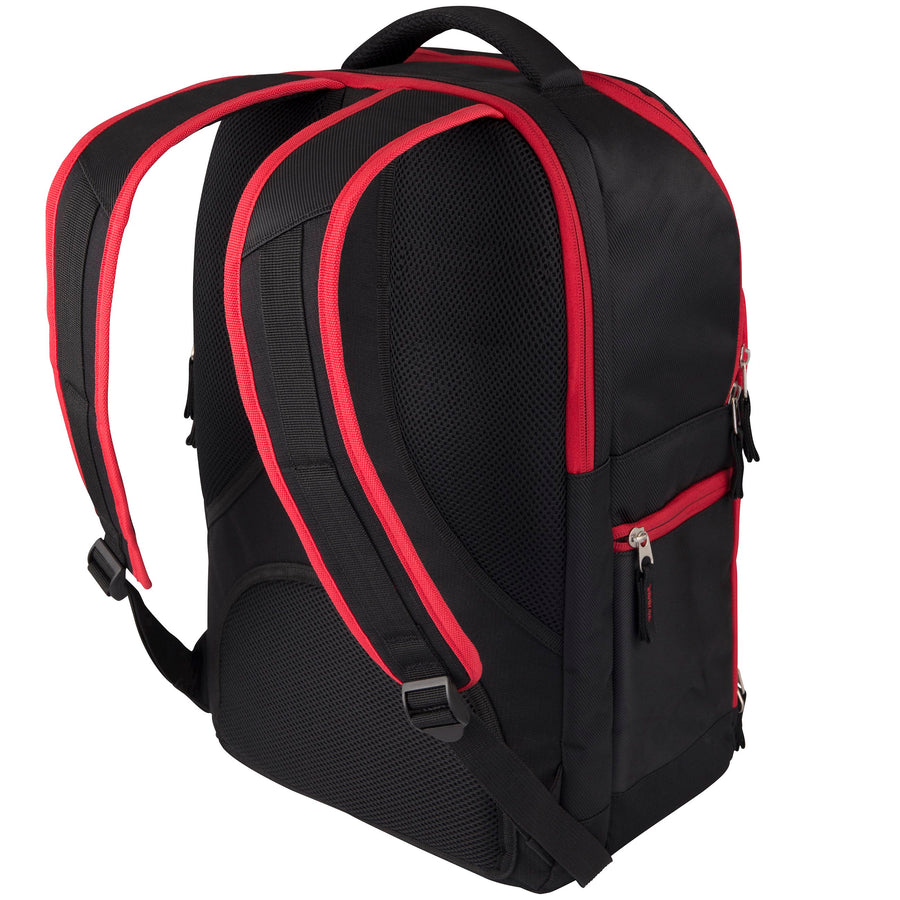 2600 RHAH17 83026203 Bag Club Rucksack V3 Blk-red Back