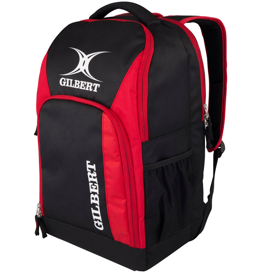 2600 RHAH17 83026203 Bag Club Rucksack V3 Blk-red Front