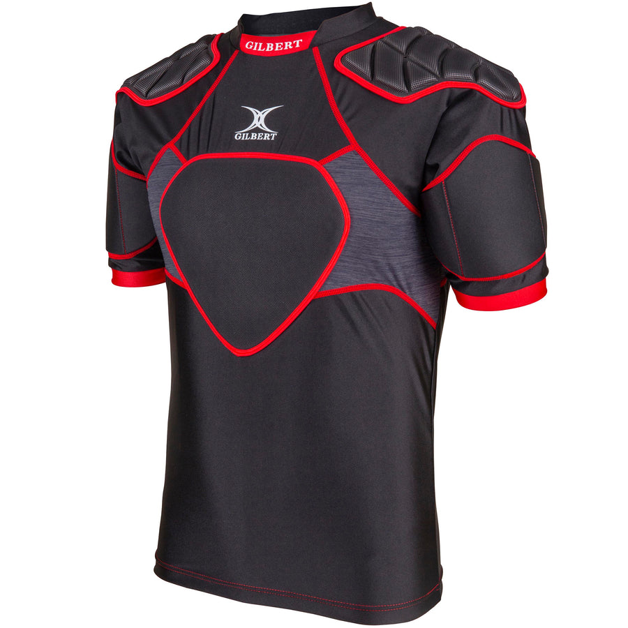 2600 RPCD19 85522805 Body Armour XP 300 Black & Red, Angle