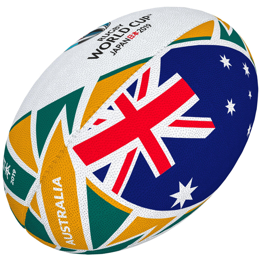 2600 RRBC18 48418205 Ball Rwc2019 Flag Australia Sz5
