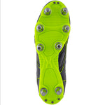 2600 RSIA19 87385026 Boot Sidestep X9 Lo 8 Stud Black & Neon Yellow, Sole