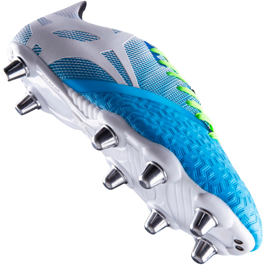 Kaizen X 3.1 Power Rugby Boots - Junior 6 stud - Blue