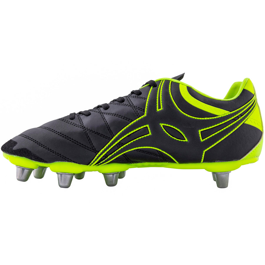 Sidestep X9 8 Stud Junior Rugby Boots Size 6