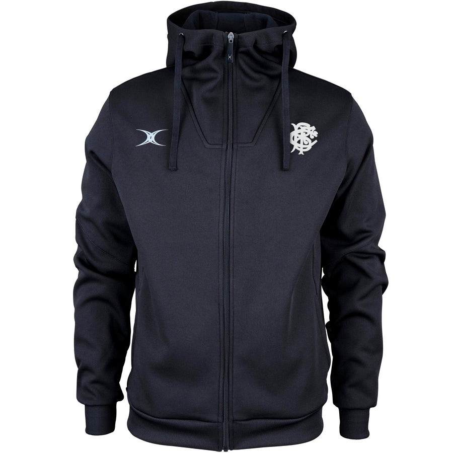 Barbarian FC Adult's Full Zip Hoody - Black