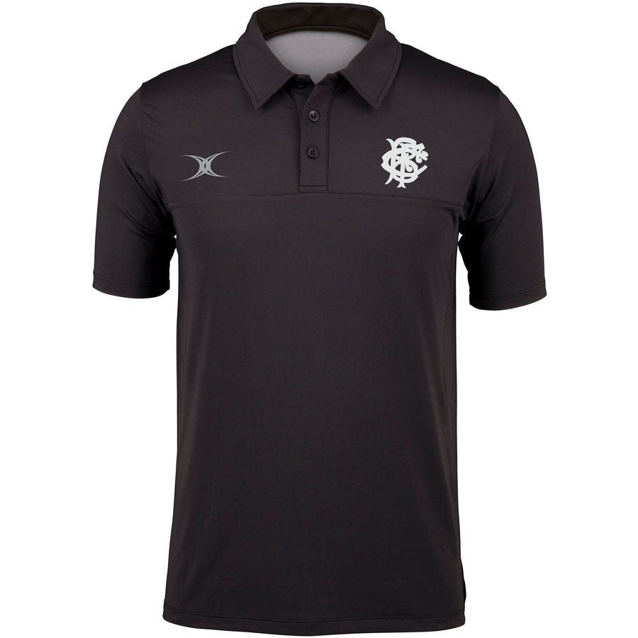 Barbarian FC Adult's Black Barbarian Polo