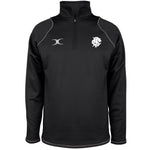 Barbarian FC Adult's 1/4 Zip Fleece - Black