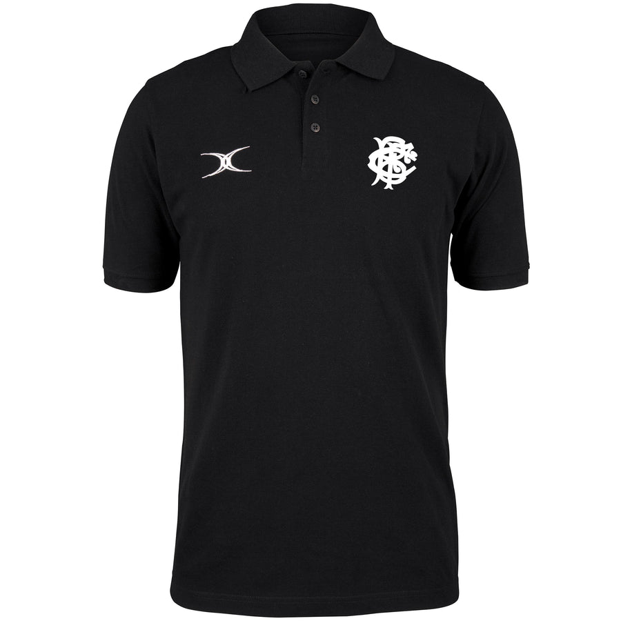 Barbarian FC Adult's Black Barbarian Black Polo