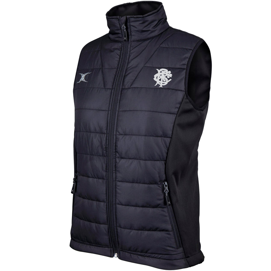 Barbarian FC Adult's Black Ladies Barbarian Body Warmer