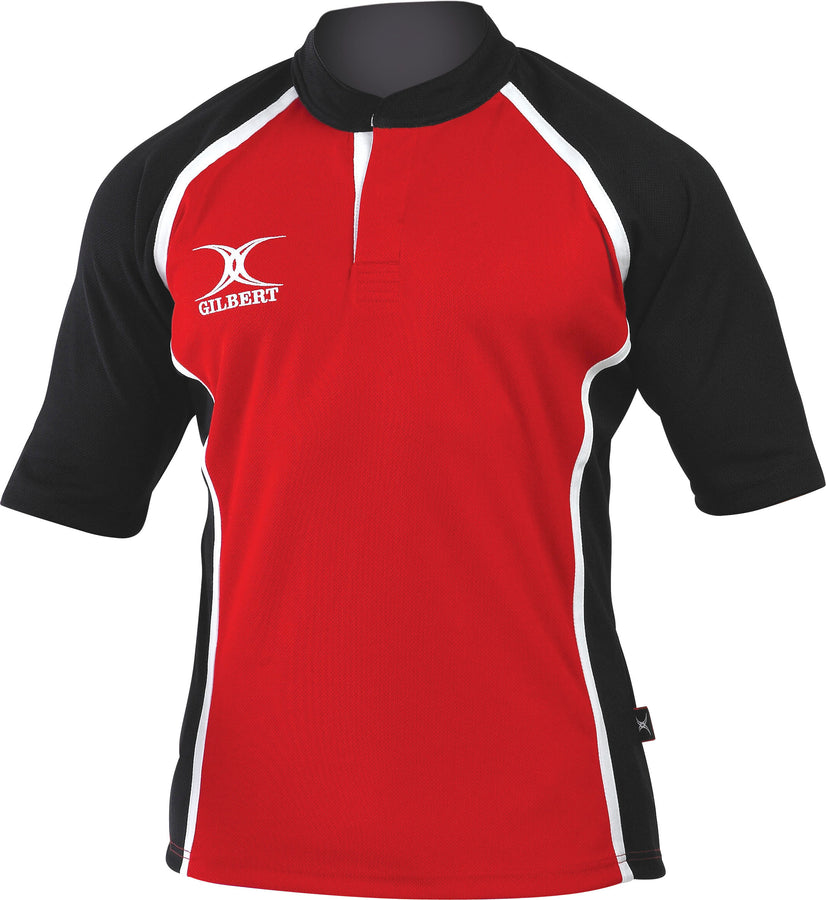 RCAD14MatchShirt Xact Shirt Red Black