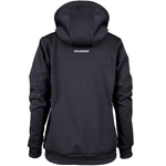 RCBQ17Jacket Pro Technical Hoodie Full Zip Ladies Black, Back