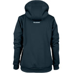 RCBQ17Jacket Pro Technical Hoodie Full Zip Ladies Dark Navy, Back