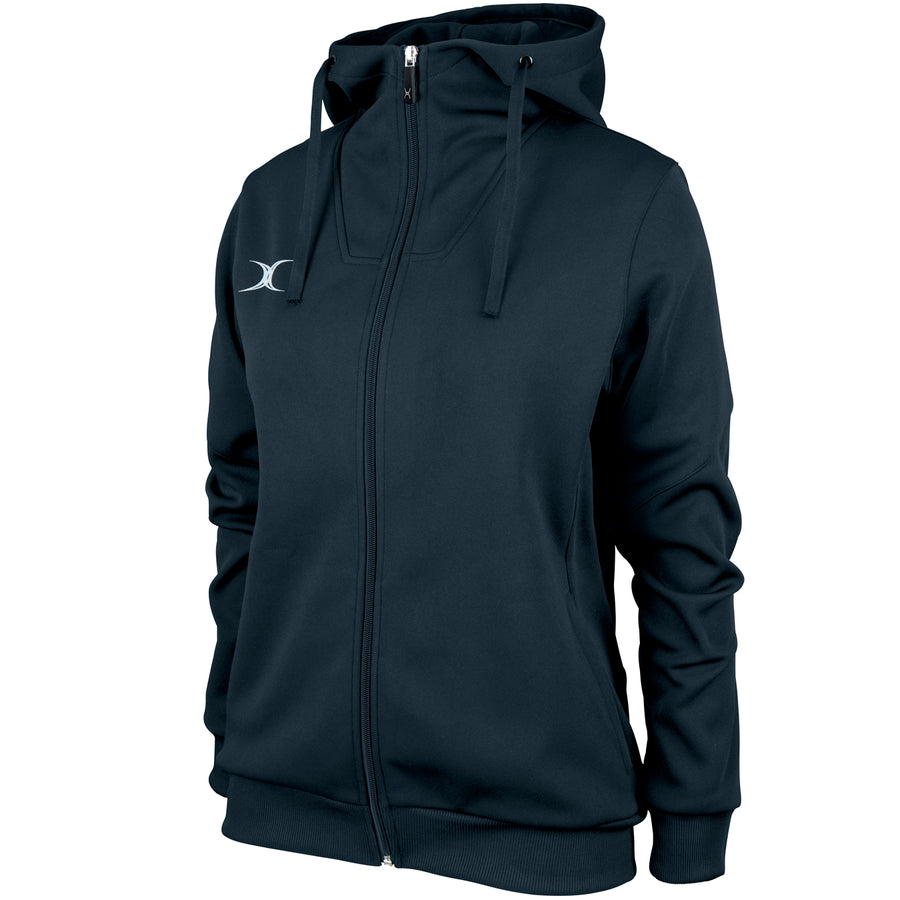 RCBQ17Jacket Pro Technical Hoodie Full Zip Ladies Dark Navy Main