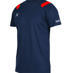 RCFB13LeisureWear Vapour Tee Shirt Navy Red