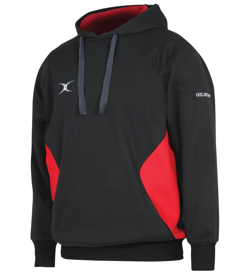 RCGC13LeisureWear Vapour Hoodie Black Red