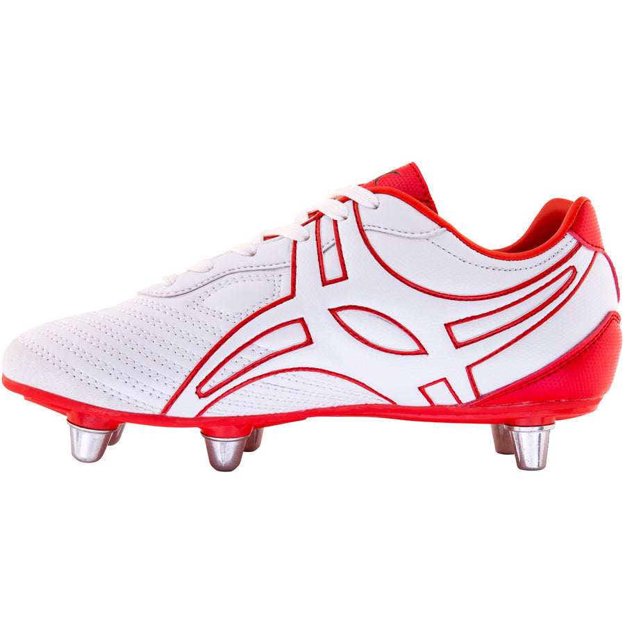 RSDA18Boot Sidestep V1 Lo 6s White_red, Instep