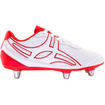 RSDA18Boot Sidestep V1 Lo 6s White_red, Outstep