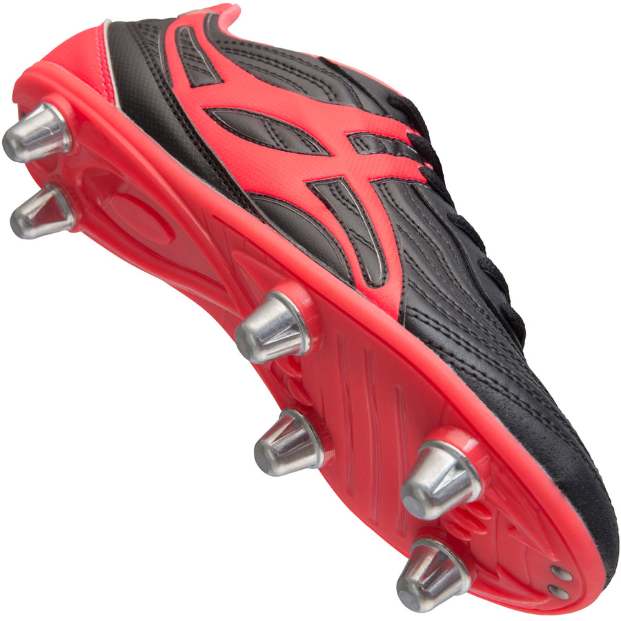 RSGA17Boot Sidestep V1 Lo 6 Stud Hot Red Creative