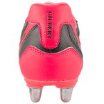 RSGA17Boot Sidestep V1 Lo 6 Stud Hot Red Heel
