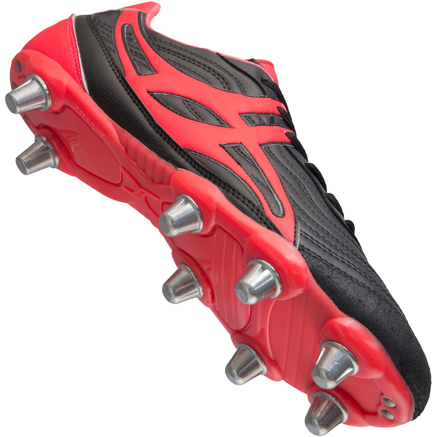 RSGA17Boot Sidestep V1 Lo 8 Stud Hot Red Creative