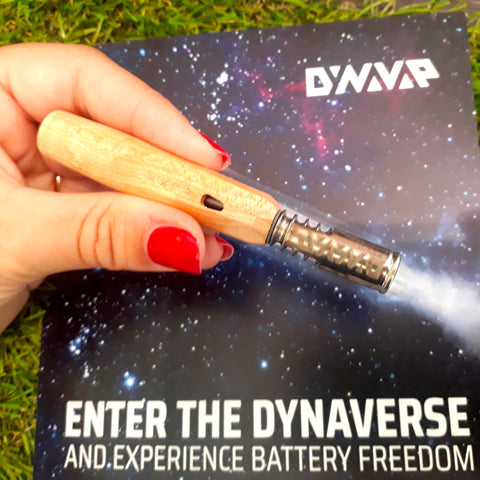 Vaporisateur DYNAVAP Nonavong light wood - Green Heaven | CBD Bordeaux