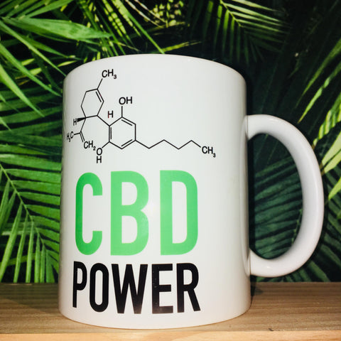 Mug CBD Power - Green Heaven | CBD Bordeaux