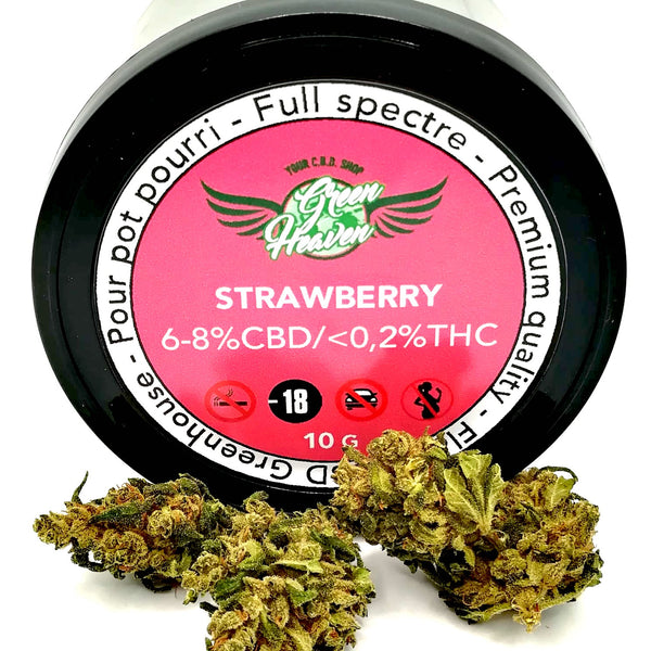 fleurs cbd strawberry green heaven cbd bordeaux