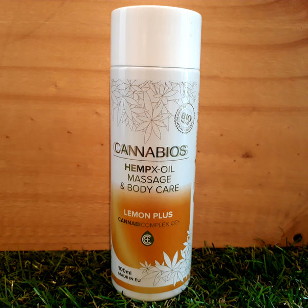 Huile de massage bio au CBD Cannabios - Green Heaven | CBD Bordeaux