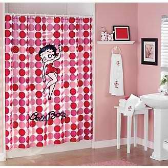 Hello Betty Shower Curtain - Shower Curtain