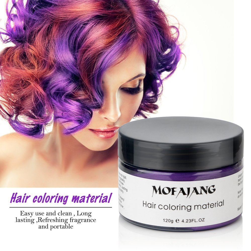 Mofajang Temporary Colored Hair Wax Molding Paste