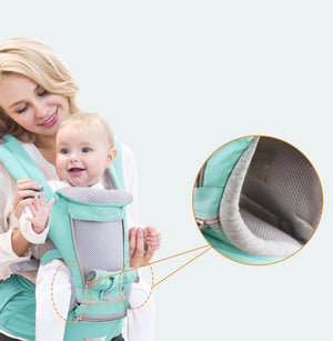 Baby & Kind - Multifunktionale 4-in-1 Babytrage - TheOrangeFlow
