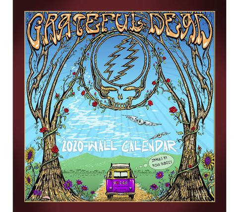 CAL-GD20 // 2020 Grateful Dead Wall Calendar