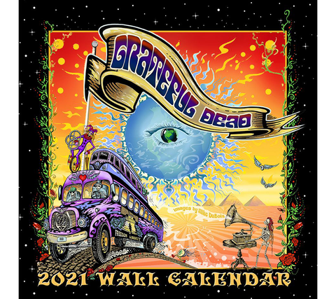 CAL-GD21 // 2021 Grateful Dead Wall Calendar