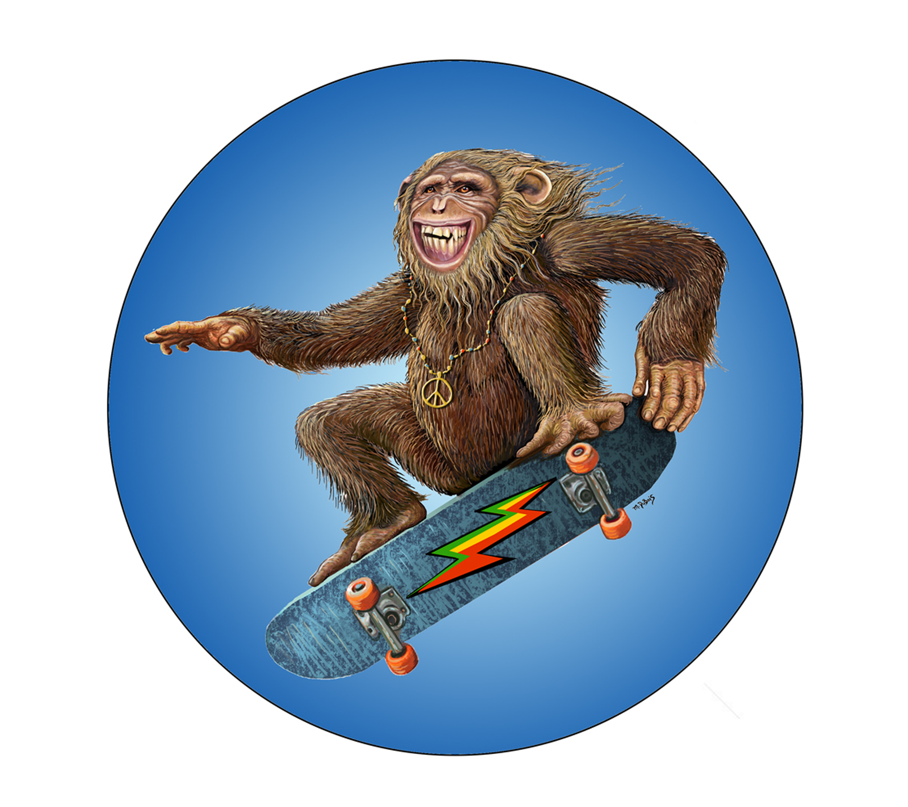 DS-577 // Skateboard Monkey