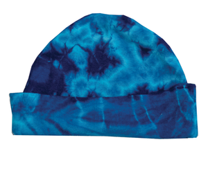 KC-BC // Infant-Toddler Blue Crinkle Hat