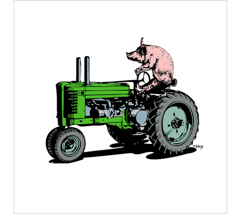 L-528 // Pig On A Tractor