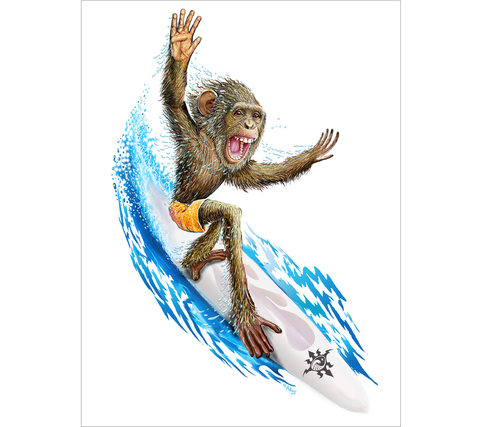 L-573W // Surfing Monkey